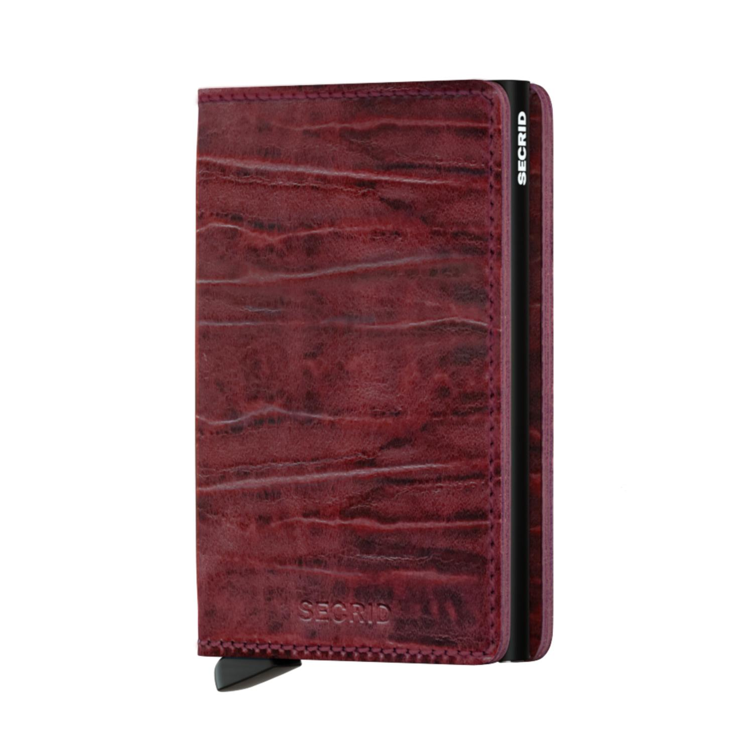 SECRID SLIMWALLET S-DUTCH MARTIN/BORDEAUX BORDEAUX